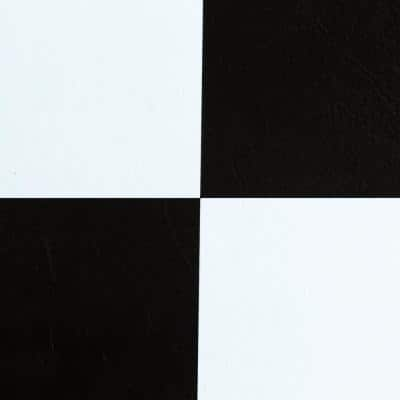 Sterling Black and White Checkered 12 in. x 12 in. Peel and Stick Vinyl Tile (20 sq. ft. / case)