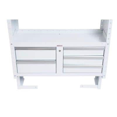 Steel Freestanding Garage Cabinet in White (42 in. W x 17 in. H x 16 in. D)