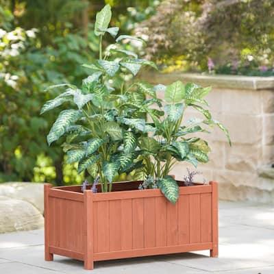 32 in. x 18 in. Cedar Planter Box