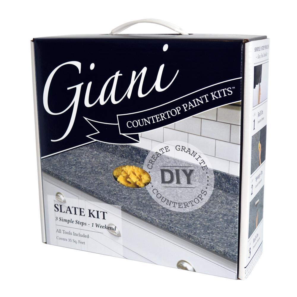 Granite Slate Countertop Paint Kit