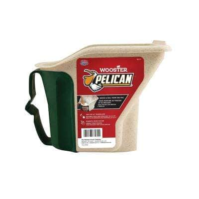 1 qt. Pelican Hand-Held Pail with Brush Magnet