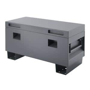 36 in. Job Site Box, Gray