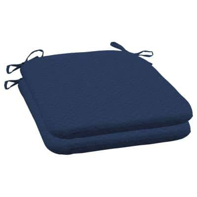 DriWeave Sapphire Leala Outdoor Square Seat Pad (2-Pack)