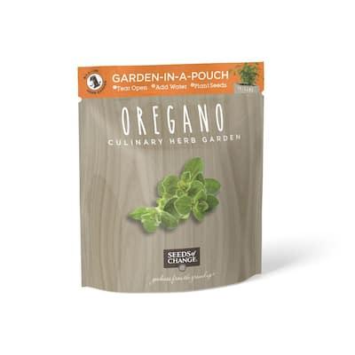 Organic Oregano Garden in a Pouch