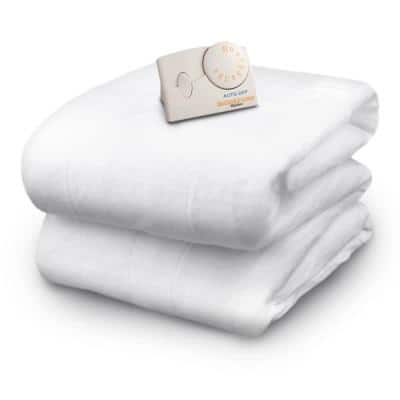 5.1 in. Full Polyester Mattress Pad