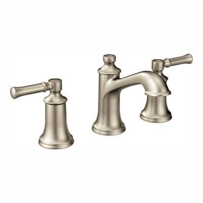 Dartmoor 8 in. Widespread 2-Handle Bathroom Faucet Trim Kit in Brushed Nickel (Valve Not Included)