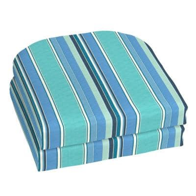 18 x 18 Sunbrella Dolce Oasis Outdoor Chair Cushion (2-Pack)