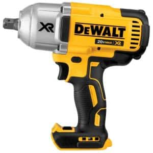 20-Volt MAX XR Cordless Brushless 1/2 in. High Torque Impact Wrench with Detent Pin Anvil (Tool-Only)