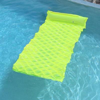 Smart Float Yellow Pool Float