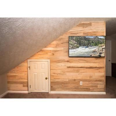 5/16 in. x 46 in. Multi-Width Multi-Color Maple Wood Kiln Dried Ambrosia Kit Planks (10 sq. ft.)