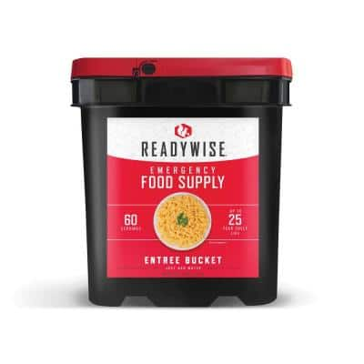 60-Serving Entree-Only Grab-and-Go Bucket