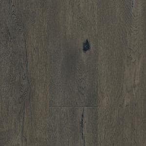 Taupe Oak 6.5 mm T x 6.5 in. W x 48 in. Varying L. Waterproof Engineered Click Hardwood Flooring (21.67 sq. ft. / case)
