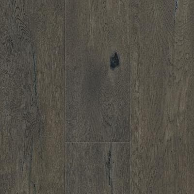 Taupe Oak 6.5 mm T x 6.5 in. W x 48 in. Varying L. Waterproof Engineered Click Hardwood Flooring (21.67 sq. ft./case)