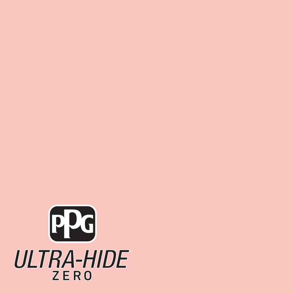 Ppg 1 Gal Hdpr55 Ultra Hide Zero Light Coral Sunset Satin Interior Paint Hdpr55z 01sa The Home Depot