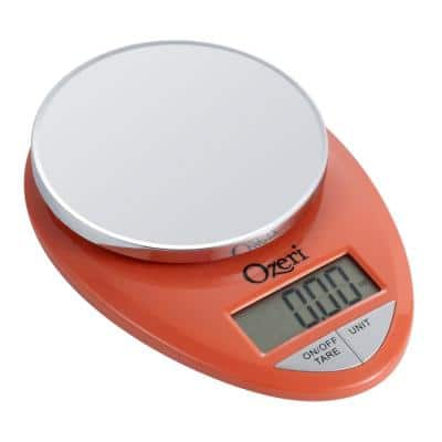 0.05 oz. to 12 lbs. Pro Digital Kitchen Food Scale (1 g to 5.4 kg)