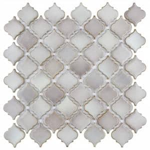 Hudson Tangier Dove Grey 12 in. x 12 in. Porcelain Mosaic Tile (10.96 sq. ft. / Case)