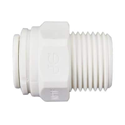 3/8 in. Push-To-Connect x 3/8 in. MIP Polypropylene Adapter Fitting