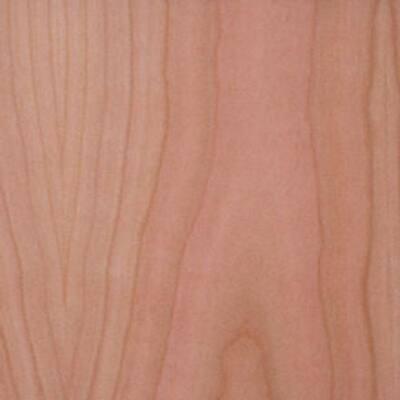24 in. x 96 in. Cherry Wood Veneer with 10 mil Paper Backer