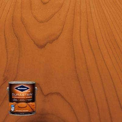 1 gal. Durastain Hickory Exterior Wood Transparent Stain (4-Pack)
