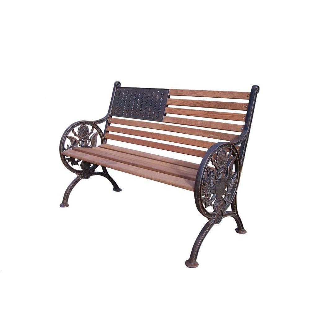 Proud American Patio Bench