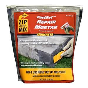 3 lb. Zip and Mix Repair Concrete Mortar