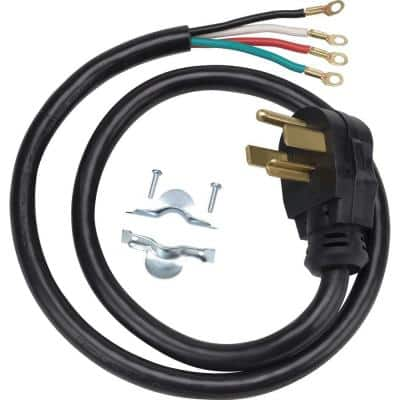 4 ft. 4-Prong 30 Amp Dryer Cord