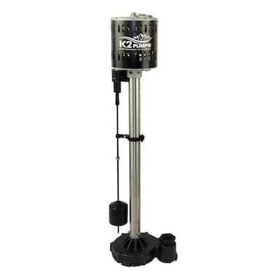 1/2 HP Stainless Steel Pedestal Sump Pump