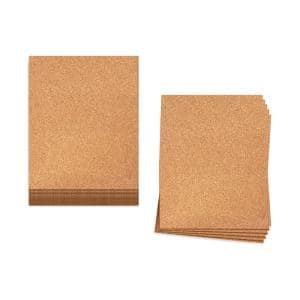 150 sq. ft. 2 ft. Wide x 3 ft. Long x 6 mm Thick Cork Underlayment Sheets (25-Pack)