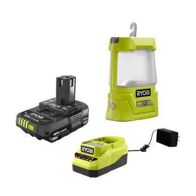 ONE+ 18V Cordless Area Light with USB Charger with 2.0 Ah Battery and Charger
