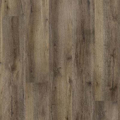 Princeton Classic Brown 8.6 in. W x 60 in. L Click-Lock Rigid Core Luxury Vinyl Plank Flooring (21.50 sq. ft./case)