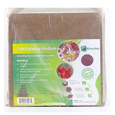 10 lbs. Organic Coco Block Coir Brick Potting Soil (4-Pack)