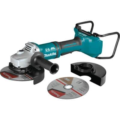 18-Volt X2 LXT Lithium-Ion 36V Brushless Cordless 7 in. Paddle Switch Cut-Off/Angle Grinder w/ Electric Brake Tool Only
