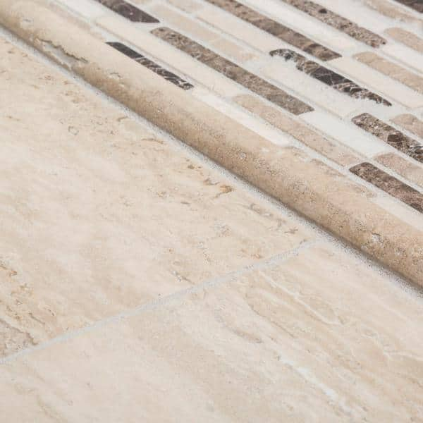 Jeffrey Court Travertine Beige 6 In X 12 In Honed Travertine Wall And Floor Tile 1 Sq Ft Pack 98994 The Home Depot