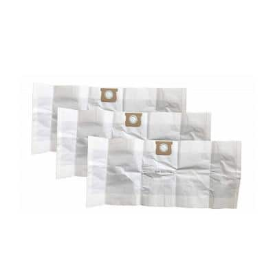 Type G Bags Replacements for Shop-Vac 15-22 Gal. Wet and Dry Vacs Parts 90663, 90663-00 (3-Pack)