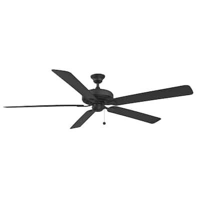 Edgewood 72 72 in. Indoor/Outdoor Black Ceiling Fan
