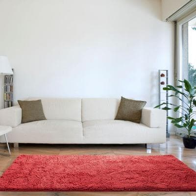 Coral 3 ft. x 5 ft. Area Rug