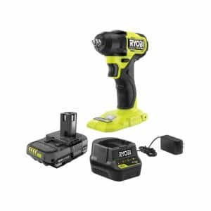 ONE+ HP 18V Brushless Cordless Compact 3/8 in. Impact Wrench Kit with 1.5 Ah Battery and 18V Charger