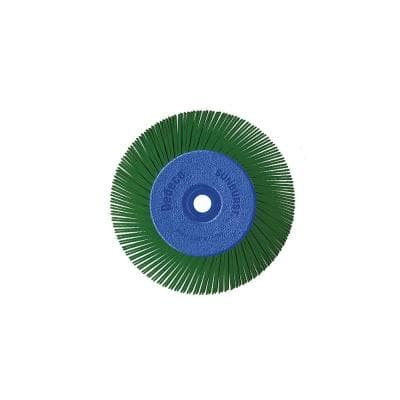 Sunburst - 6 in. TA Radial Discs - 1/2 in. Arbor - Thermoplastic Cleaning and Polishing Tool, X-Coarse 50-Grit (1-Pack)