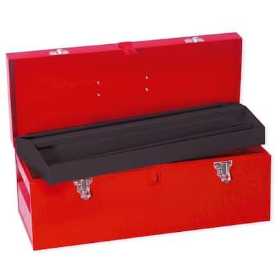 Heavy Duty Metal Tool Box- 20 1/16 in. x 7 7/8 in. x 7 7/8 in.