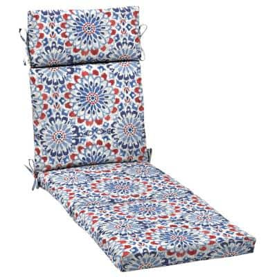 Arden Selections 21 in. x 72 in. Clark Outdoor Chaise Lounge Cushion