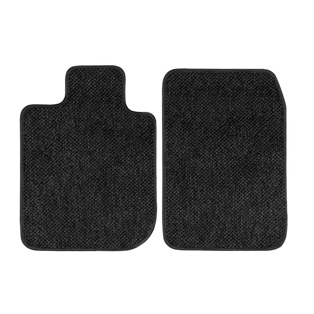 GG Bailey D2649A-F1A-BLK Front Set Custom Fit Floor Mats for Select Mercedes-Benz E Models Black Nylon Fiber