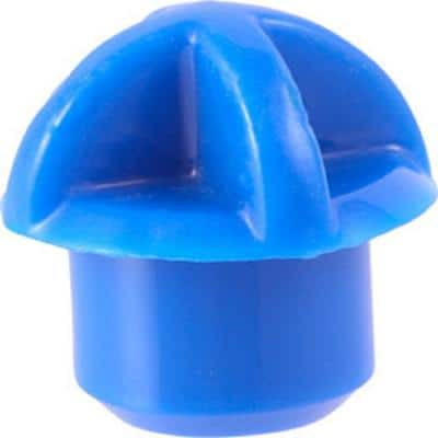 1/2 in. Blue Plastic PEX Tubing Protector (25-Pack)