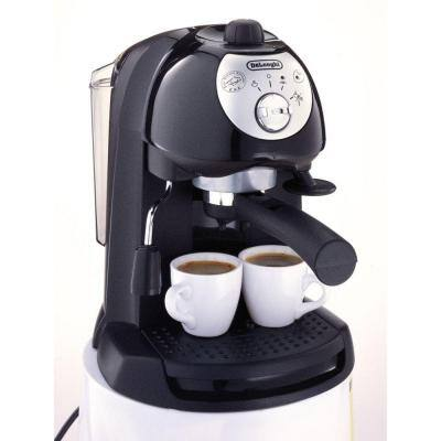BAR32 15-Bar Black Espresso Machine and Cappuccino Maker