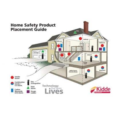 10 Year Worry-Free Hardwired Smoke Detector with Intelligent Wire-Free Voice Interconnect (4-Pack)