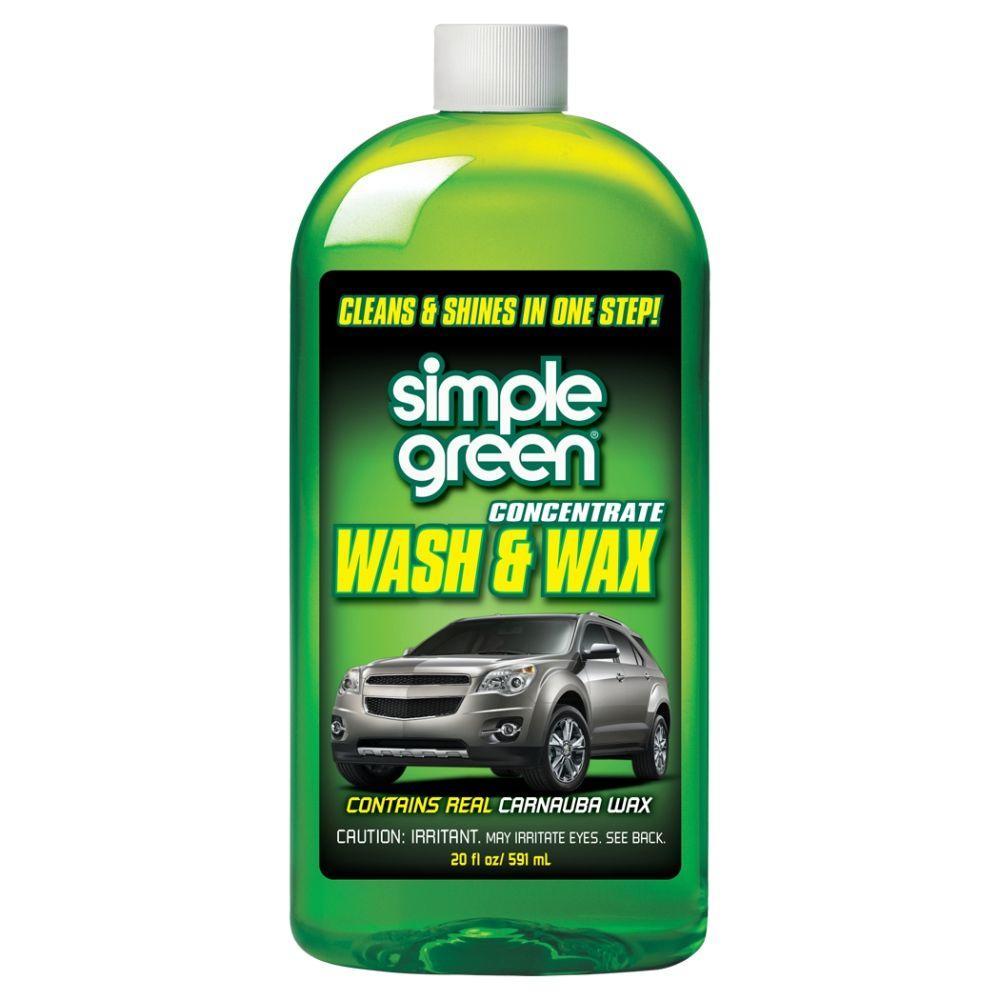 20 oz. Car Wash and Wax