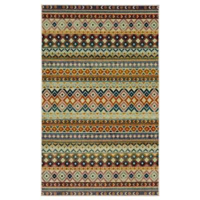 Myron Multi 8 ft. x 10 ft. Indoor Area Rug