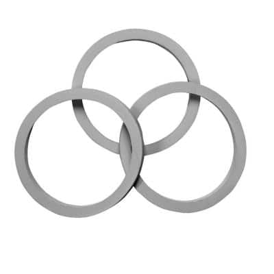 1-1/2 in. Sink Drain Pipe Rubber Reducing Washer (3-Pack)