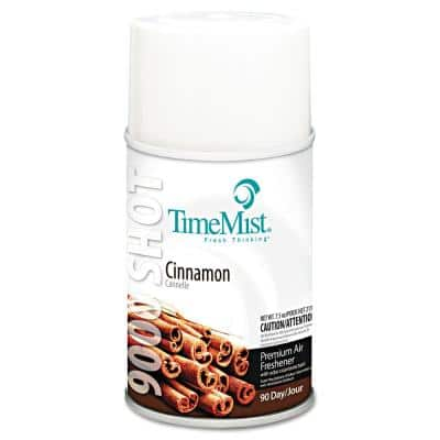 7.5 oz. Aerosol Cinnamon 9000 Shot Metered Automatic Air Freshener Refill (4 per Carton)