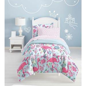 Flamingo 5-Piece Pink Full Comforter Set