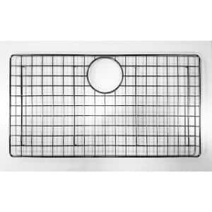24.8 in. Grid for Kitchen Sinks in Brushed Stainless Steel